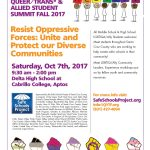 Queer, Trans* & Allied Student Summit / October 7, 2017